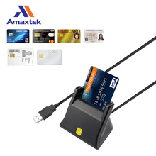 Portable Smart Chip Mini Credit Card Reader and Writer ISO 7816