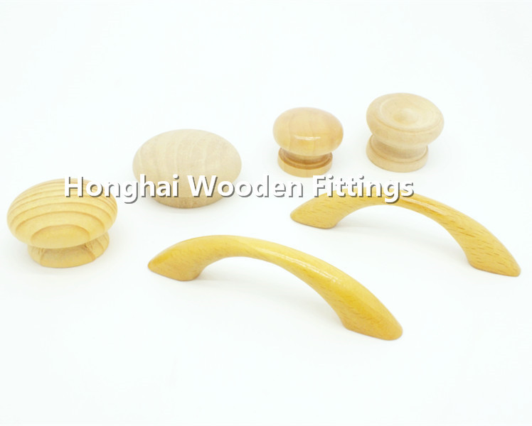 Oak wood small cabinet pulls and knobs factory in Foshan