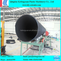 Extra Large Diameter Steel Reinforced Sprial Winding Pipe Production Line