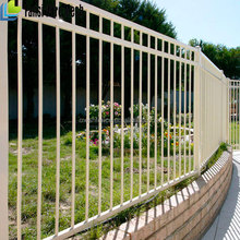 high quality morden wrought iron garden fence panel for sale on alibaba china