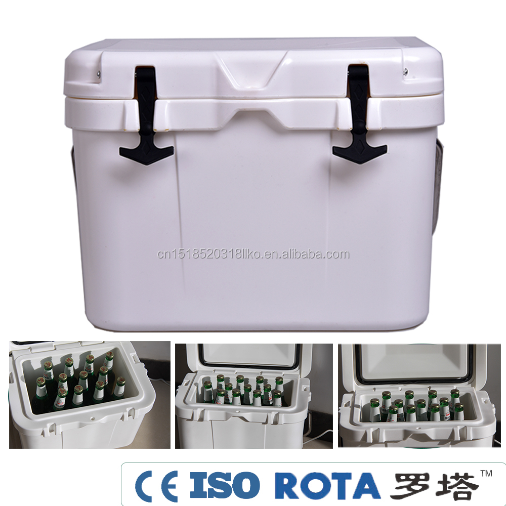 Portable Rolling Speaker Cooler Box