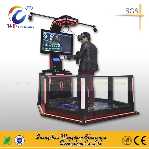 New Product Indoor shooting vibration Virtual reality 9D VR Arcade Game Machine
