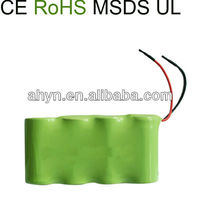 nimh C 3500mAh 4.8V rechargeable battery packing