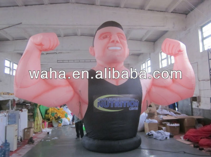 2013 attractive event/advertisement/party/movierecreation inflatable clothing models