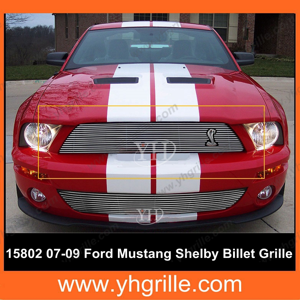 Grille for ford mustang shelby gt500/auto parts ford mustang/ford mustang auto parts