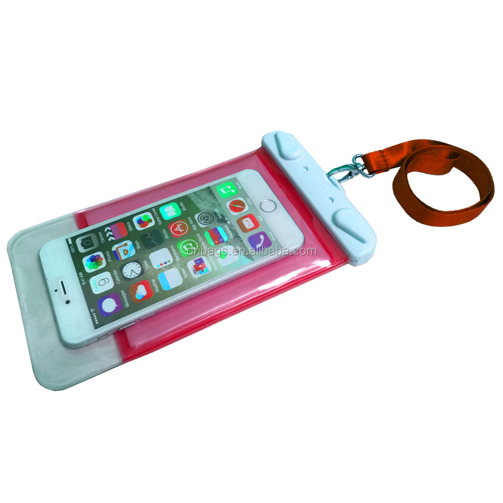 Crazy Sell pvc smartphone waterproof case/cell phone waterproof dry bag/floating phone waterproof bag