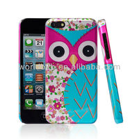 New Arrival Ultra Slim Decal PC Hard Case for iPhone 5C, IMD case