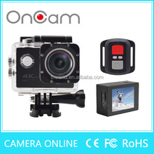 16.0MP 4K camera 30fps H12R action cam FULL HD MINI camcorder with remote control