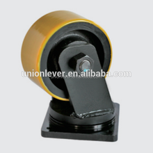 6inch swivel extra heavy duty pu casters that can load 3 Ton, Pu wheel
