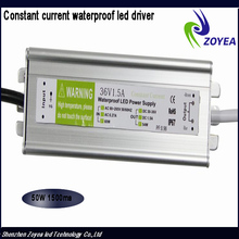 wholesale 50W 1.5A constant current waterproof dimmable 40w led driver 30-36V IP67 with CE&RoHS
