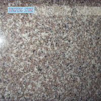 G664 Cherry Red cheap granite slab tile China Chinese polished flamed