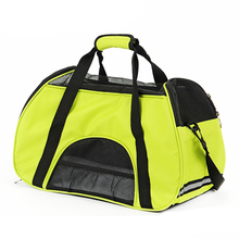 Fashion Polyester Mesh Portable Dog Pet Carrier Bag