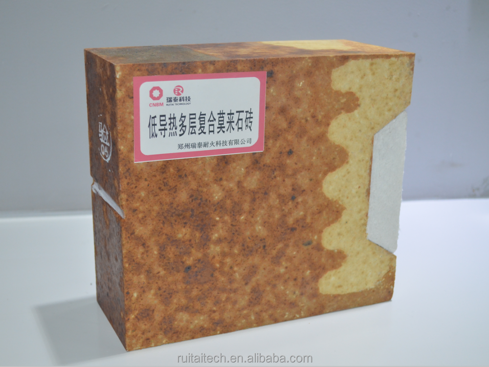 Highly customized kiln using low thermal conductivity multilayer mullite refractory brick for sale