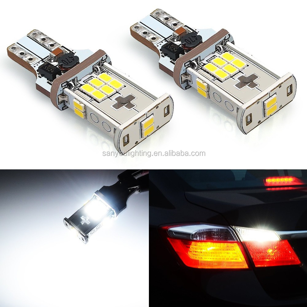 880 lumens extremely right canbus error free 921 912 t15 3020 18smd led bulbs ror backup reverse car led lights