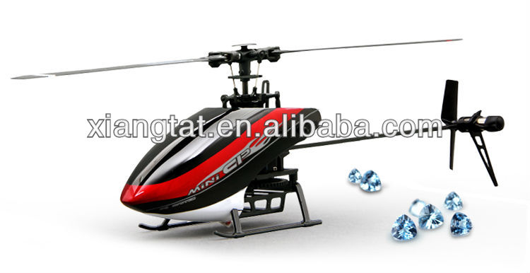 Super FP updated version!Walkera Super CP 6CH flybarless 3D mini rc helicopter with DEVO 7E RTF
