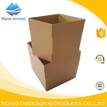 corrugated carton wax cardboard packaging box