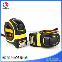 Strong magnetic rubber cover durable tape measure