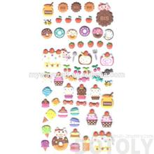 Brand new child reward printing cartoon rounded stickers with high quality
