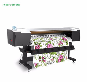 Xenons latest high resolution eco solvent printer with dx5 head