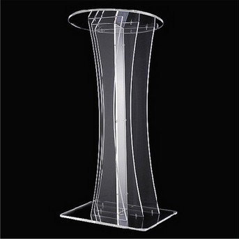 SGS approved Professional Wholesale white acrylic lectern podium for sale