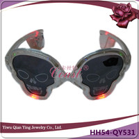 crazy plastic led light party wear glasses
