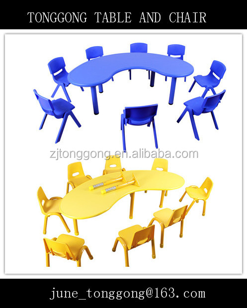 Wholesale low price preschool furniture / used preschool table and chair