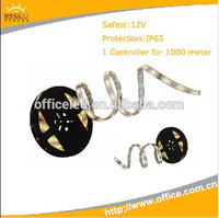 Top quality 60leds/M 5M/roll soft led strips 5050 in low voltage