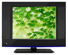 "black with blue 19"" LCD TV B grade Used Panel"