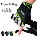 RIGWARL Outdoor Sports Breathable Shockproof Bicicleta Gloves Bicycle Cycling Gloves Gel Half Finger Gloves