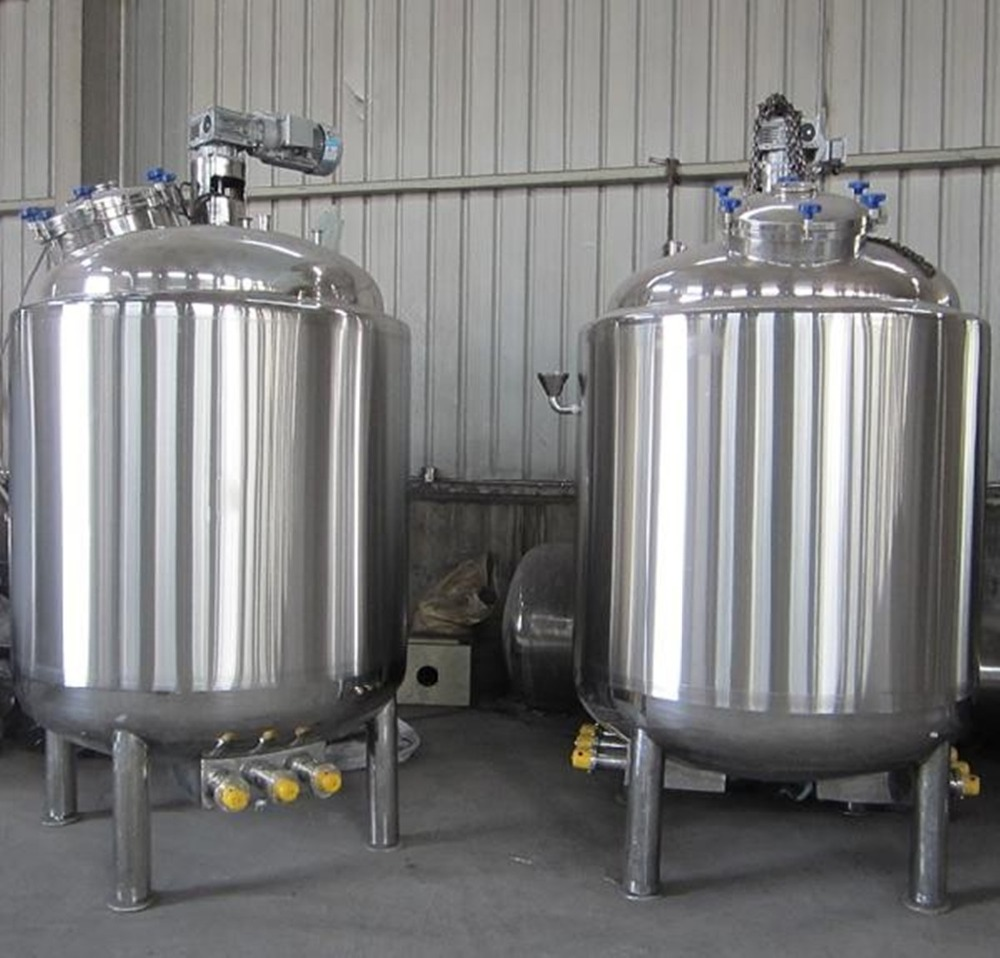 Blending Tank Emulsification Tank Mixing Vat (100-30000L )