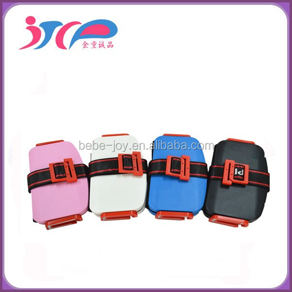 2016 Latest Design Fashion Mini Portable Safety Booster Car Seat Foldable Safety 3-12 Year old Children Car Seat