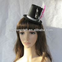 MYLOVE feather 9cm mini top hats wholesale MLGM005
