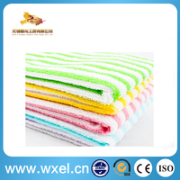 multi purpose super absorbent yarn dyed microfiber dish cloth