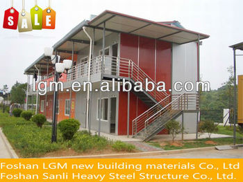 China low cost fast and quick installation prefab house