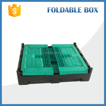 heavy duty reusable collapsible plastic bulk fruit crates