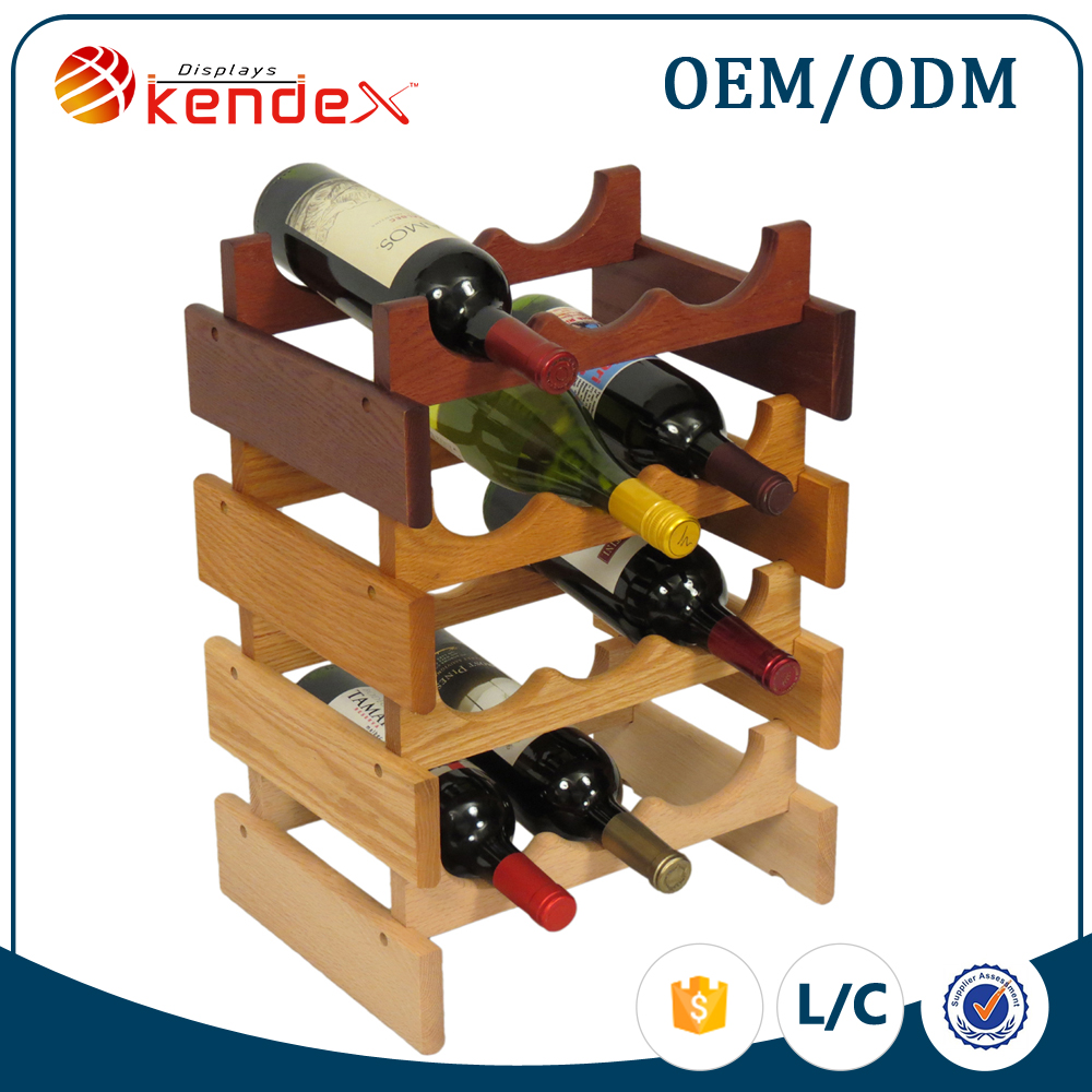 Factory price exquisite wooden store fixture for liqor store display