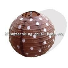 Brand polka dot wedding decoration paper lantern