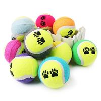 Eco Friendly Light Toy Ball Pet Supplies Training Natural Dog Toy Premium Biting Resistance Custom pet tennis