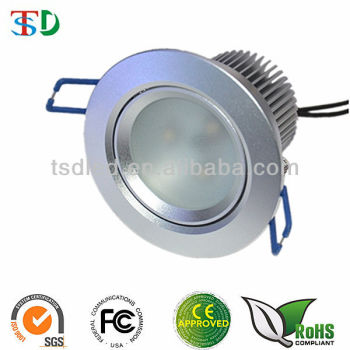 High Quality Dimmable&Adjustable 9W LED Downlight Price