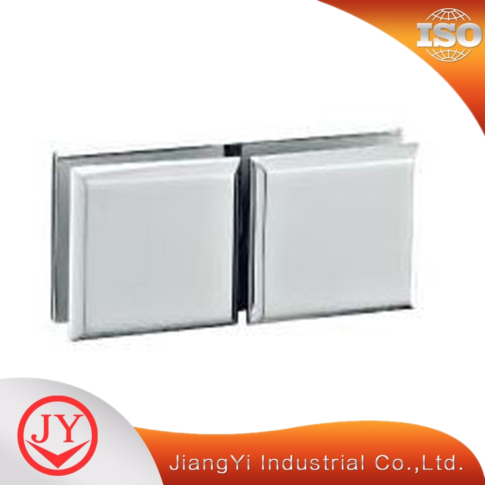 frameless glass holder shower enclosure hinges stainless steel 180 degree glass clamp