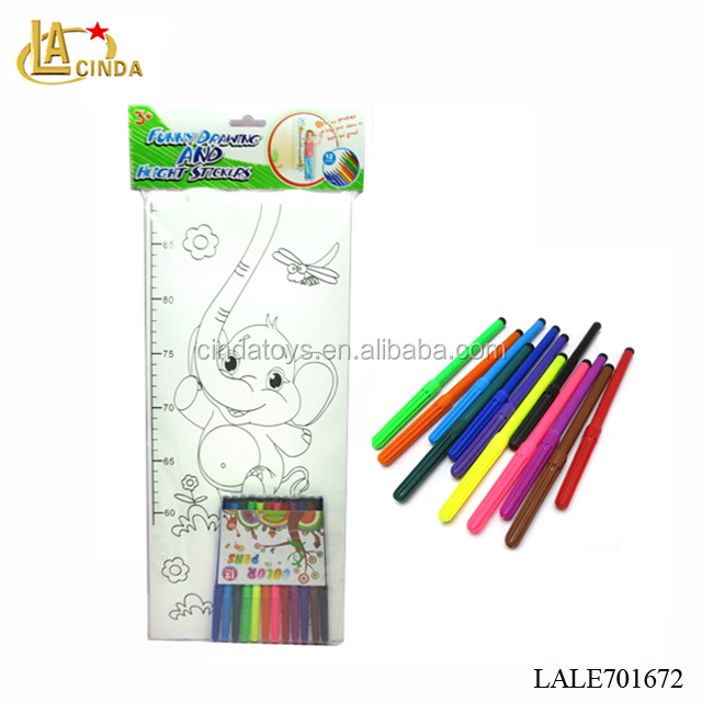 DIY elephant drawing toys for kids,learning tool,best gift to kids