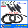 TUV Approved Tinned Copper Core PV Cable PV1F Solar Power Cable UV Resistance Solar System 2.5mm 4mm 6mm PV Solar Cable