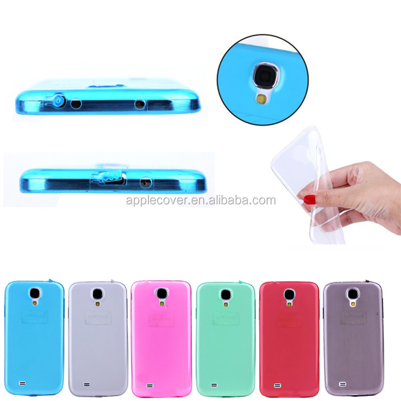 Ultra thin 0.3mm TPU case for Samsung galaxy S4 i9500 phone,for Samsung S4 TPU case