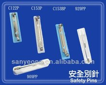 Adhesive pin /safety pin/ plastic pin