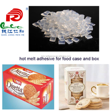 hot melt glue adhesive granules works on spray machines for food box seaming