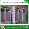 High quality 600 Liters volume of two doors type commercial commercial frozen yogurt machine
