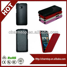Carbon Fiber Flip Case for HTC One M7