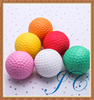 Hot selling colorful golf ball/large golf balls for promotion