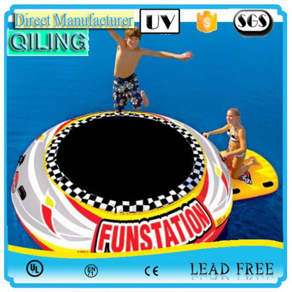 buy sport toy round inflatable water trampoline price