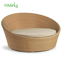 2015 Garden UV-resistant rattan/wicker Sun-bed/day bed furniture